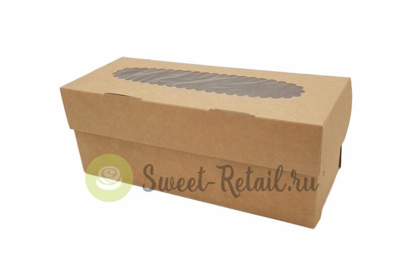 44 800x534 - Коробка на 3 капкейка (крафт) с окном