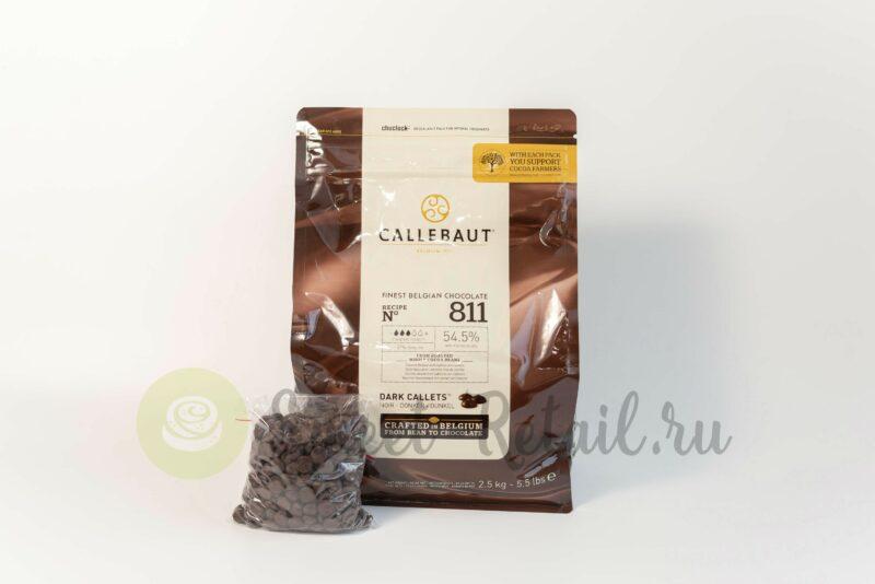 Темный шоколад Callebaut 811
