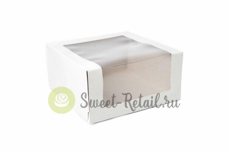 Коробка 22,5*22,5*11 см с окном