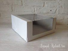 Коробка для торта 22см-22см-11см в красноярске