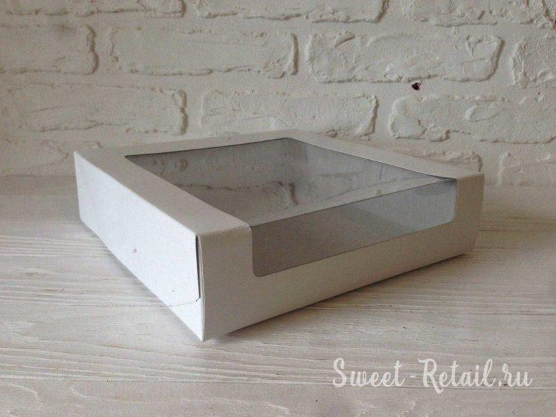 Коробка для торта 22см-22см-6см в красноярске