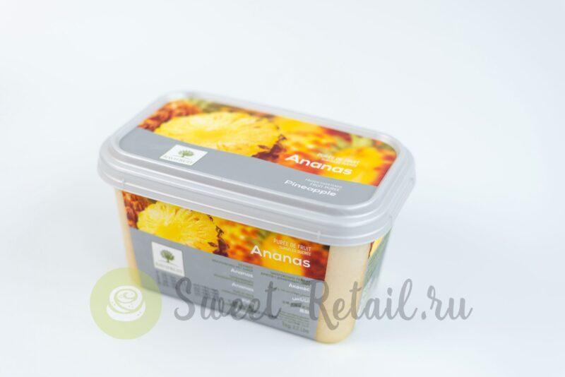 Замороженное пюре ананаса Ravifruit