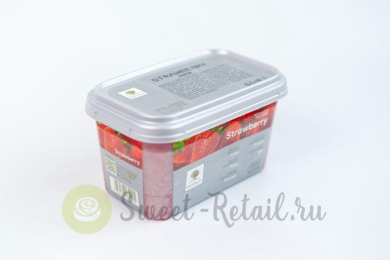 Замороженное пюре клубники Ravifruit