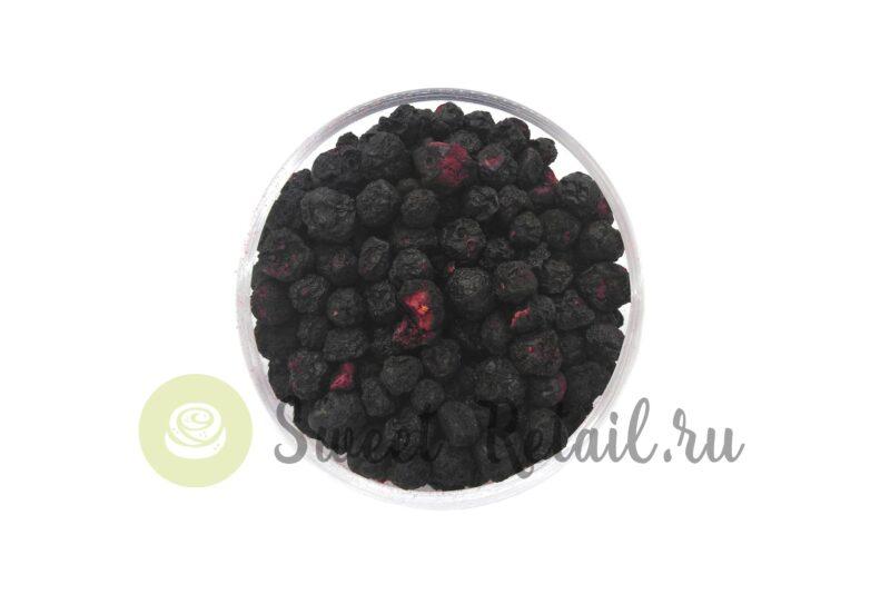 сублимированная черника в ягодах