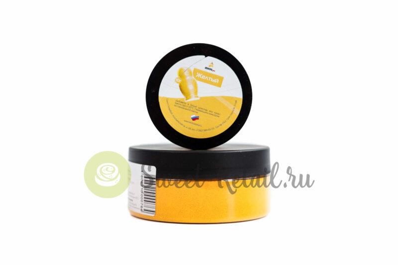 """197 800x534 - Краситель жирорастворимый сухой для шоколада """"Желтый"""""""