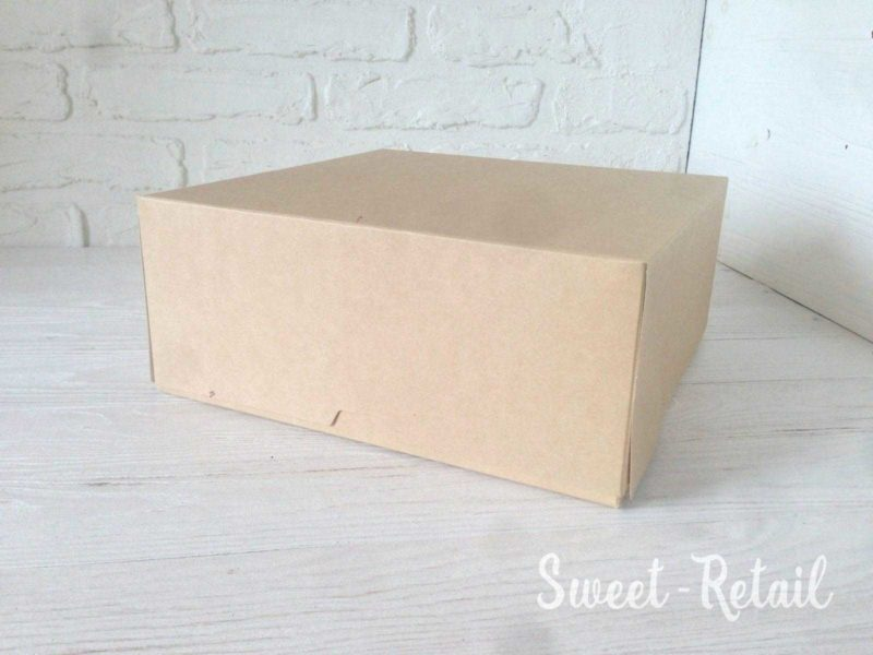 Коробка под десерты крафт в Красноярске