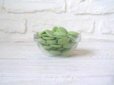 callebaut цветной зеленый