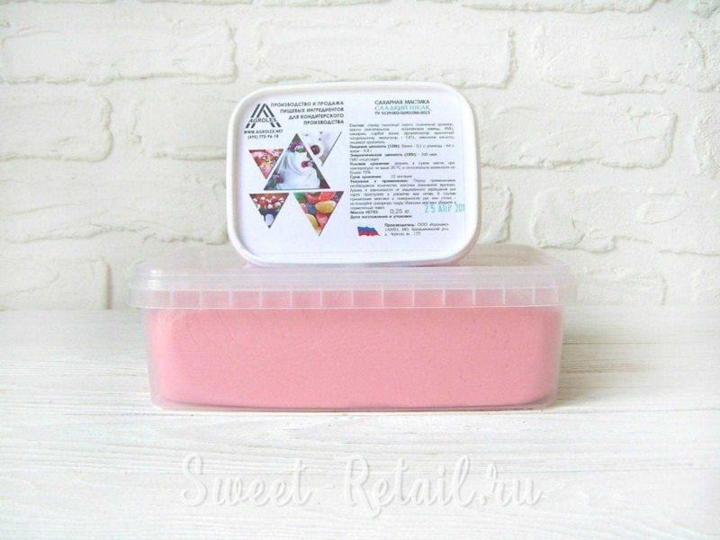 Светло-розовая мастика Агролекс