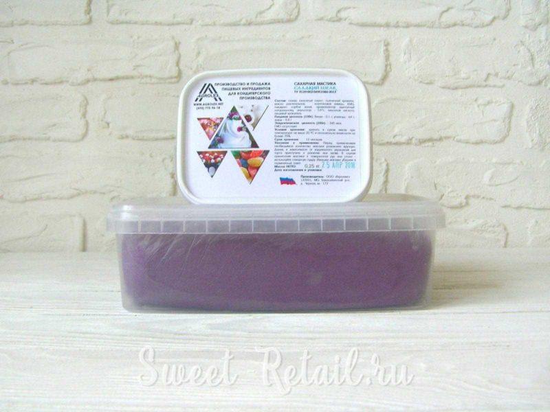 Темно-фиолетовая мастика в г. Красноярск