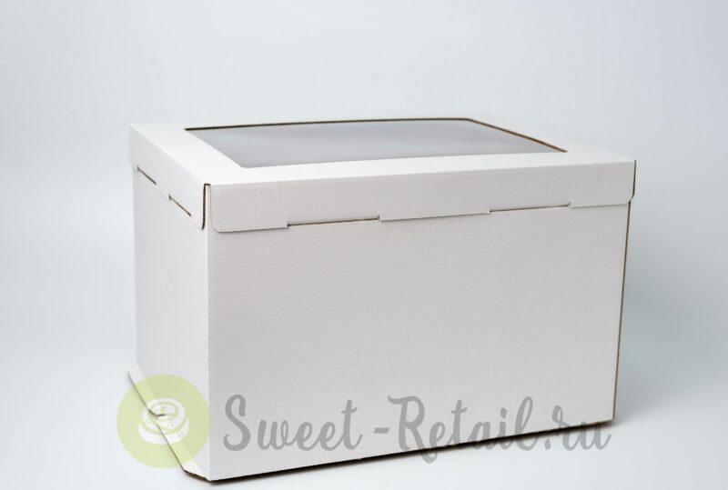 Коробка 30*40*26 см с окном