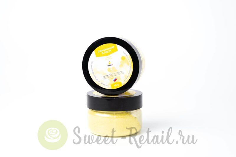 пищевой лимонный блеск от конди про