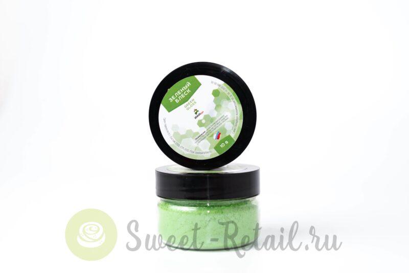 блеск пищевой зеленый конди про