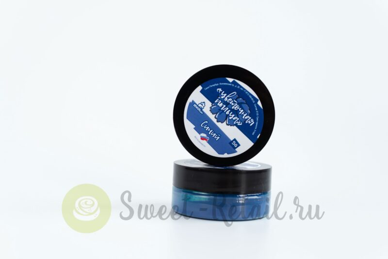 Цветочная пыльца синего цвета
