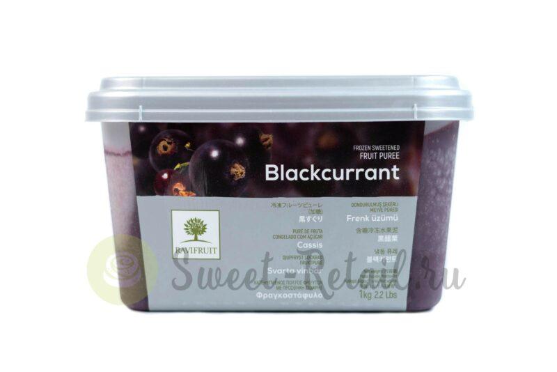 пюре черной смородины ravifruit