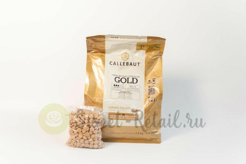 Шоколад Каллебаут Голд