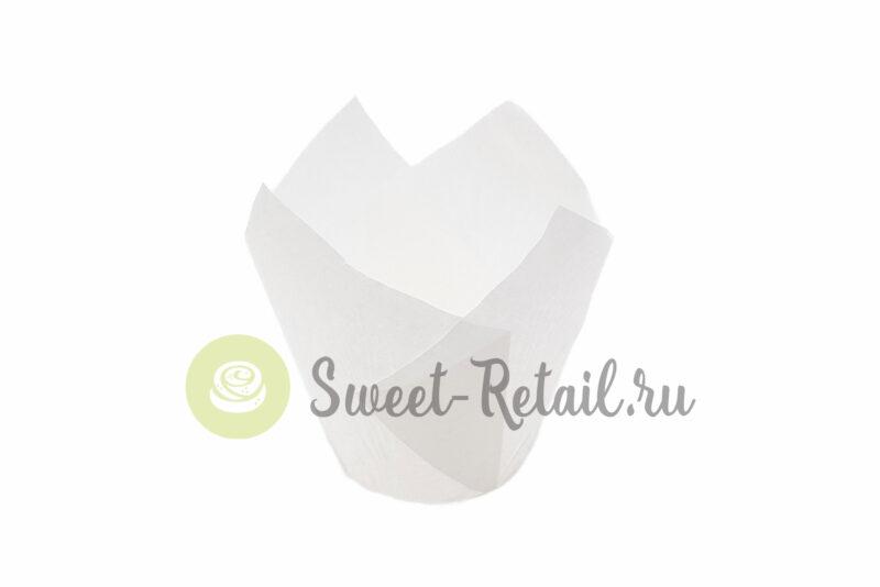 Бумажные формы Тюльпан, белые 50*70