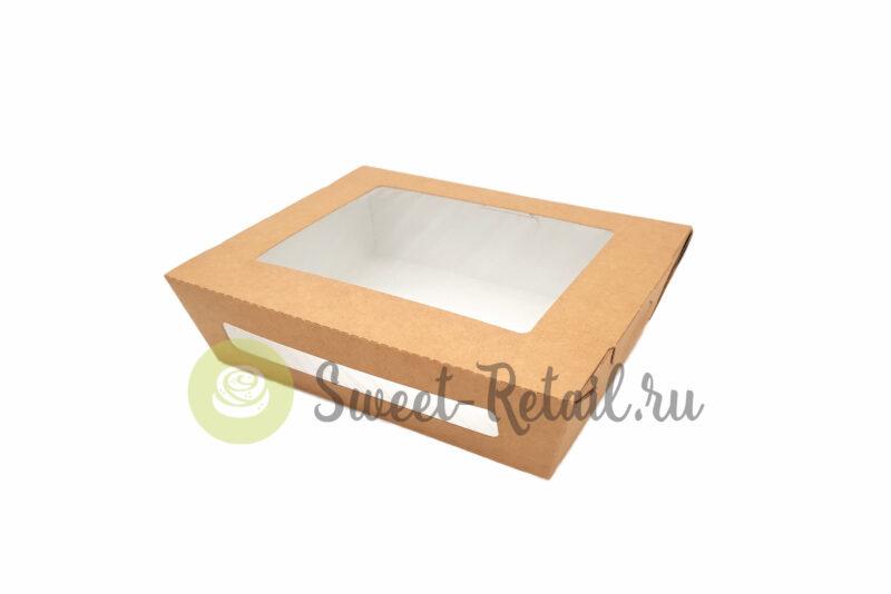 Коробка 19*15*5,5 (см) с окном